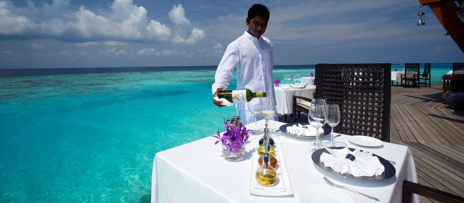 Lunch w hotelu Baros Maldives
