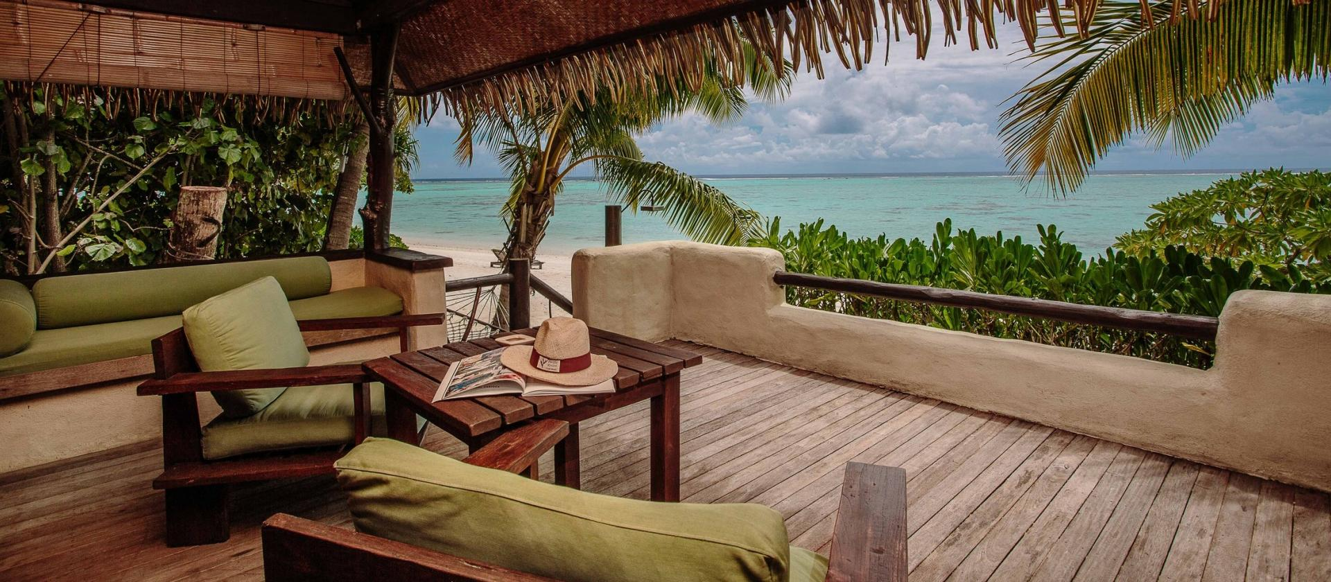 Premium Beachfront Bungalow