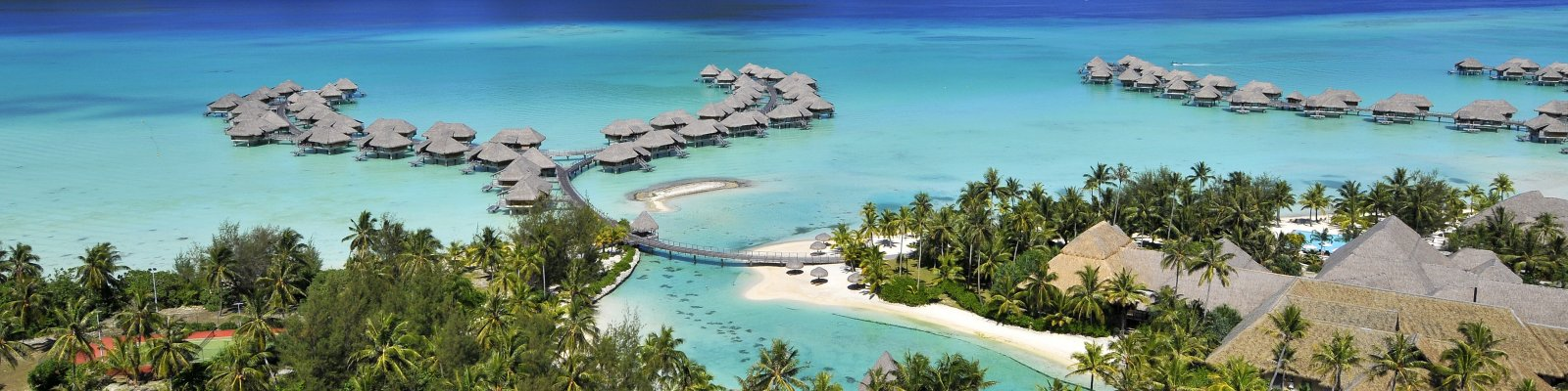 Bungalowy na wodzie w InterContinental Bora Bora Resort & Thalasso Spa